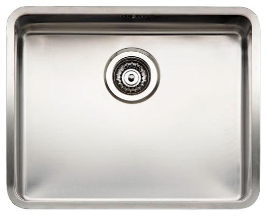 Кухонная мойка Reginox Kansas 50x40 Medium LUX OKG L сталь кухонная мойка reginox chicago l lux okg сталь
