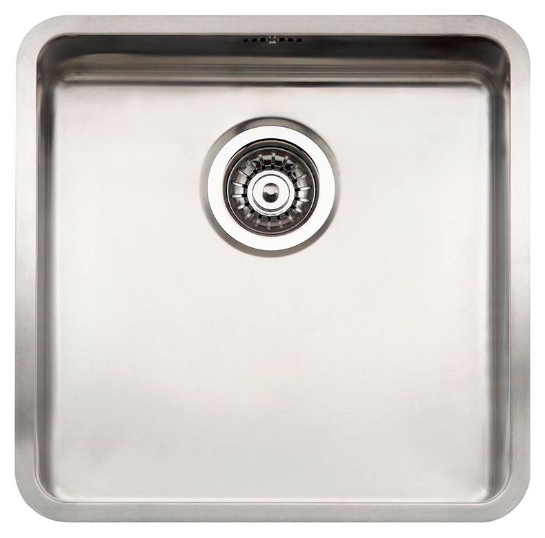 Кухонная мойка Reginox Ohio 40x40 Cuadrat LUX OKG L сталь кухонная мойка reginox chicago l lux okg сталь