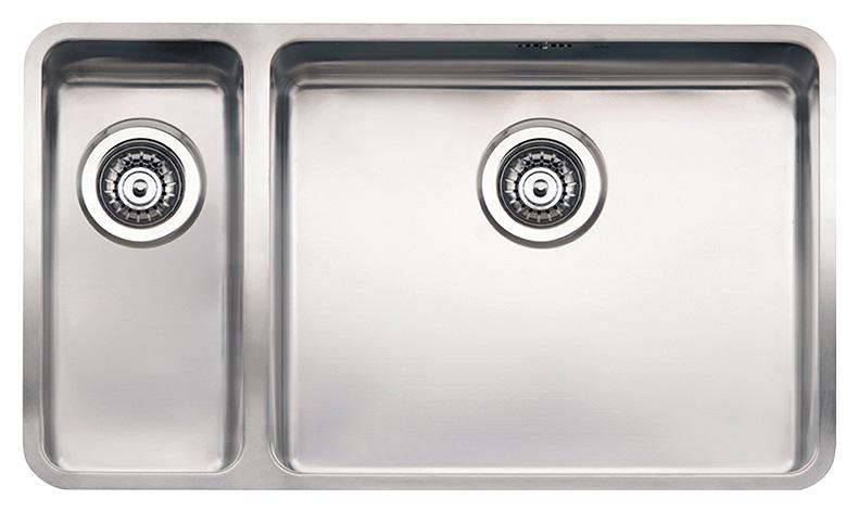Кухонная мойка Reginox Ohio 18x40+50x40 LUX L сталь цена 2017