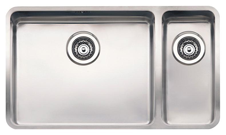 Кухонная мойка Reginox Ohio 50x40+18x40 LUX L сталь цена 2017