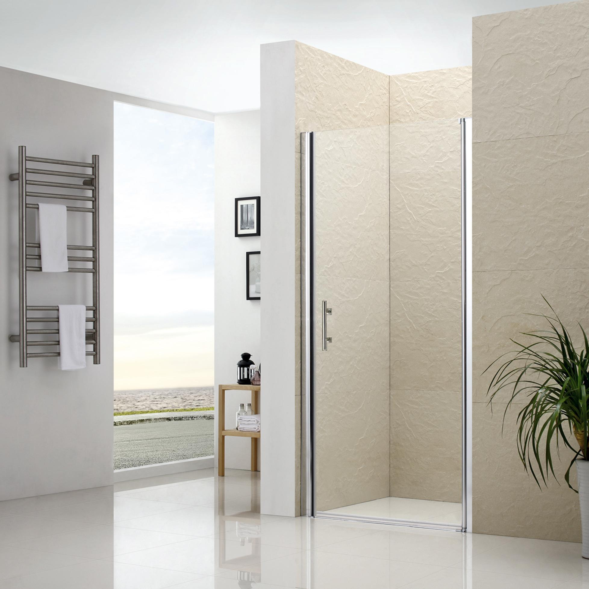 Душевая дверь RGW LE-01 90х195 прозрачное стекло матрас dreamline springless soft slim 90х195 см