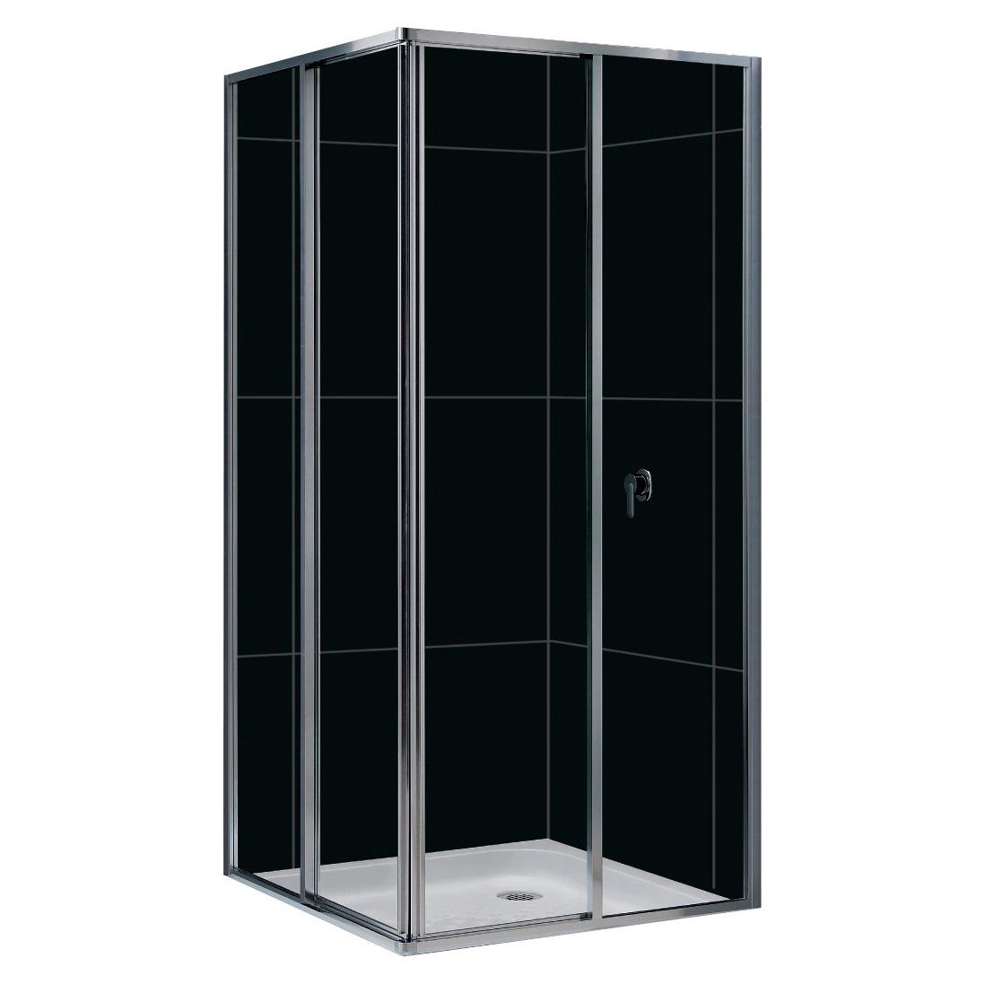 Душевой уголок RGW CL-32 90x90x185 стекло прозрачное md 108 4 хром прозрачное стекло