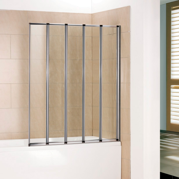 Шторка для ванны RGW SC-22 120x150 стекло прозрачное md 108 4 хром прозрачное стекло