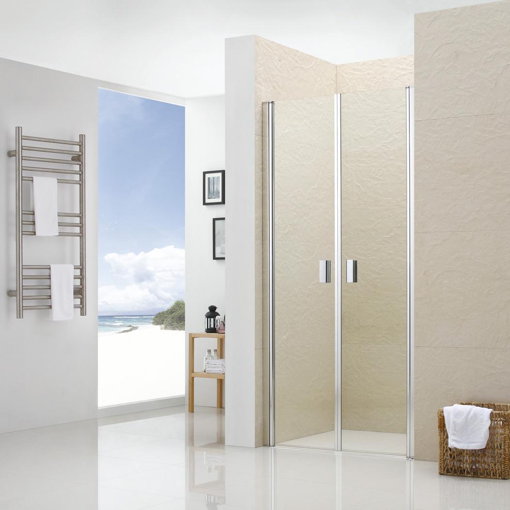 Душевая дверь RGW LE-05 90х195 стекло Frost Line матрас dreamline springless soft slim 90х195 см