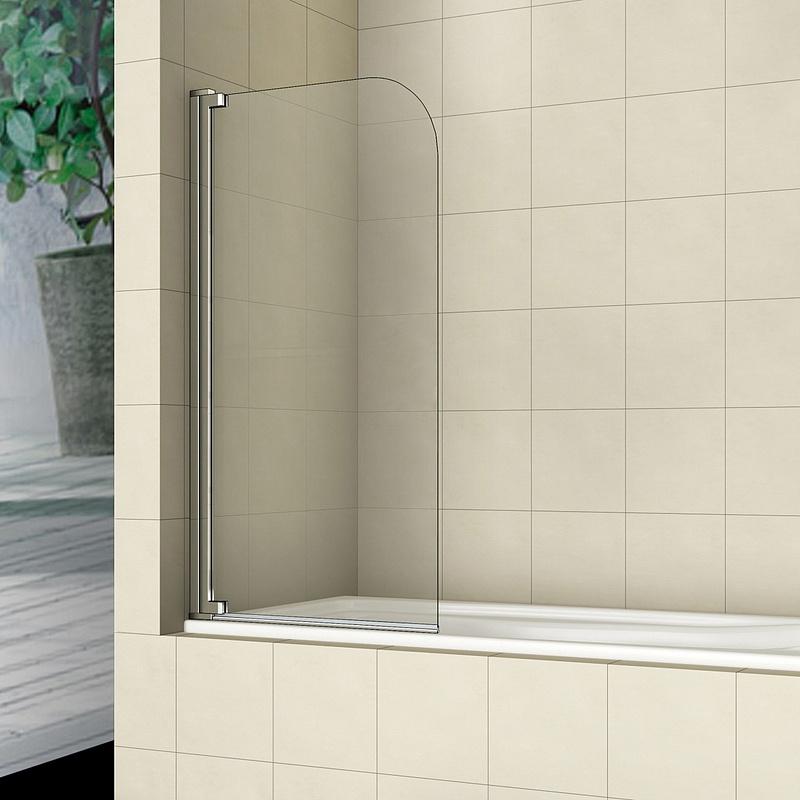 Шторка для ванны RGW SC-01 80x150 стекло прозрачное