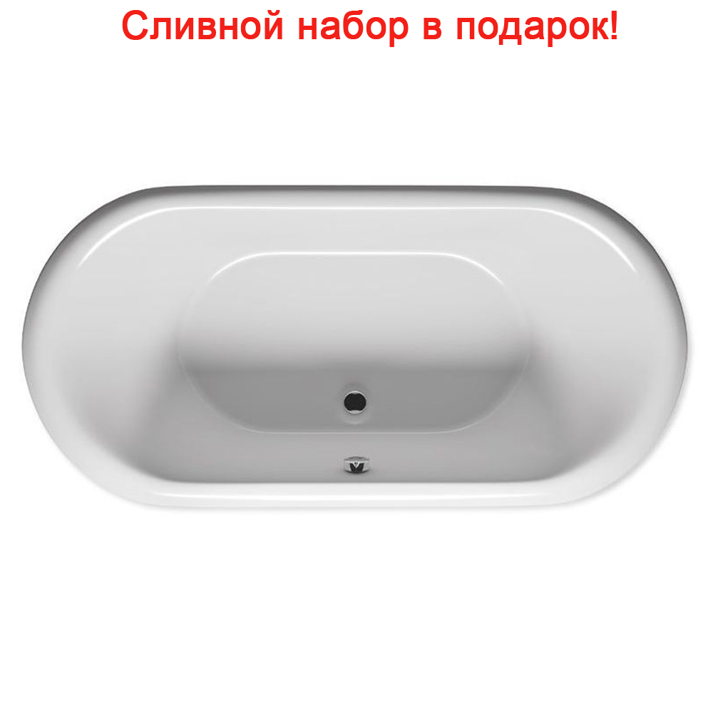Акриловая ванна Riho Dua 180x86 белая