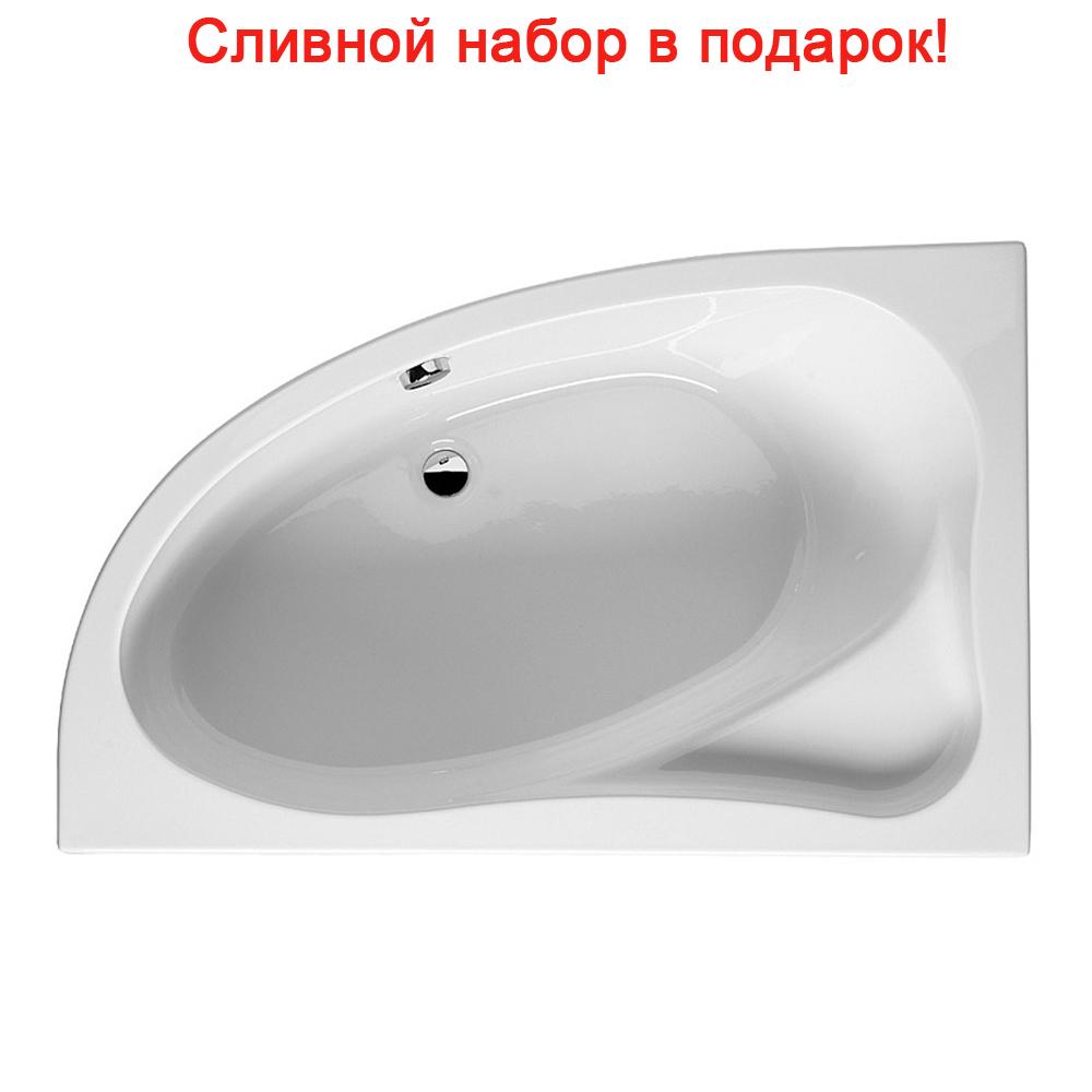 Акриловая ванна Riho Lyra 153x100 Правая акриловая ванна riho lyra правая 170x110x49