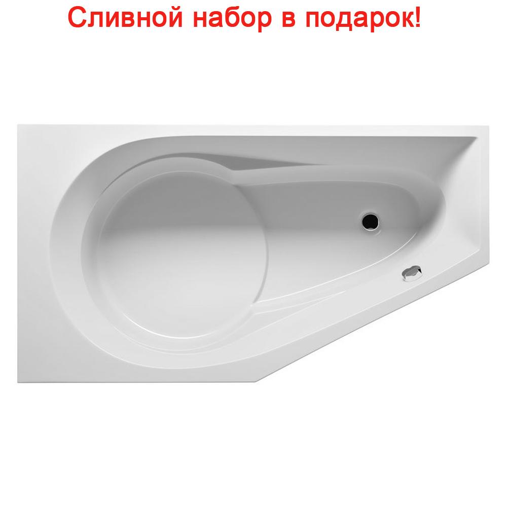 Акриловая ванна Riho Yukon 160x90 Правая riho гидромассажная ванна riho yukon 160x90 правая