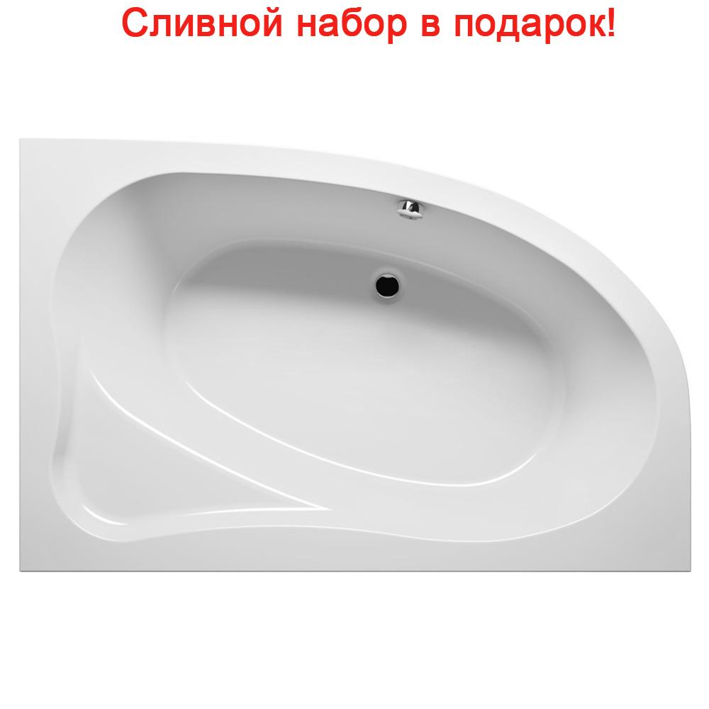 Акриловая ванна Riho Lyra 140x90 Левая