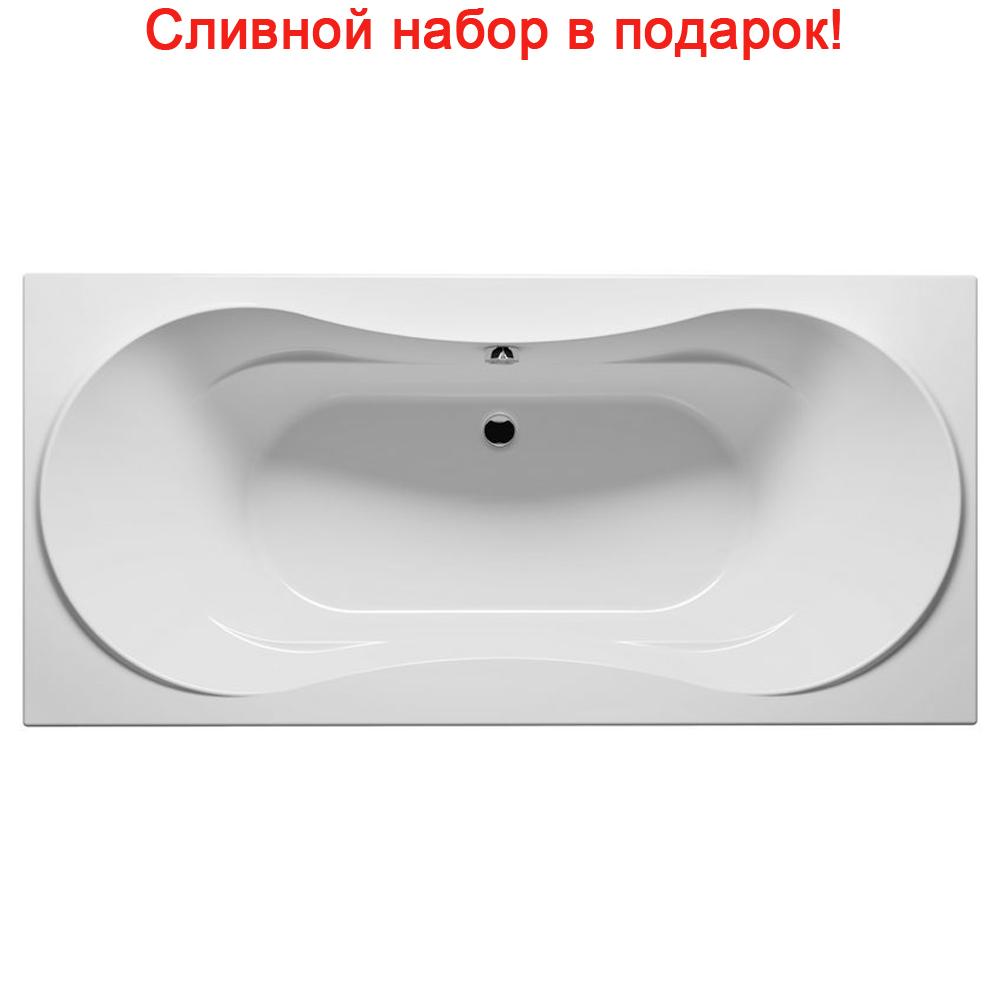 Акриловая ванна Riho Supreme 180x80 без гидромассажа