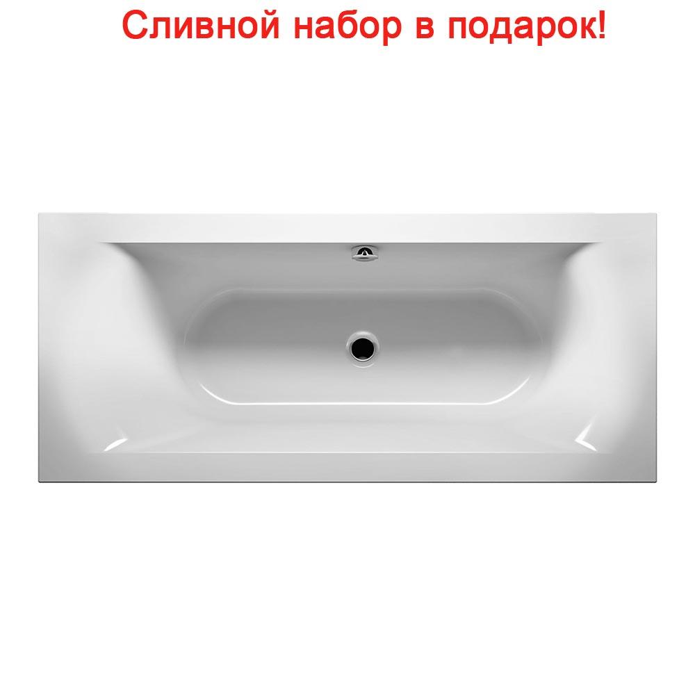 Акриловая ванна Riho Linares Velvet 180x80 без гидромассажа акриловая ванна am pm inspire 180x80
