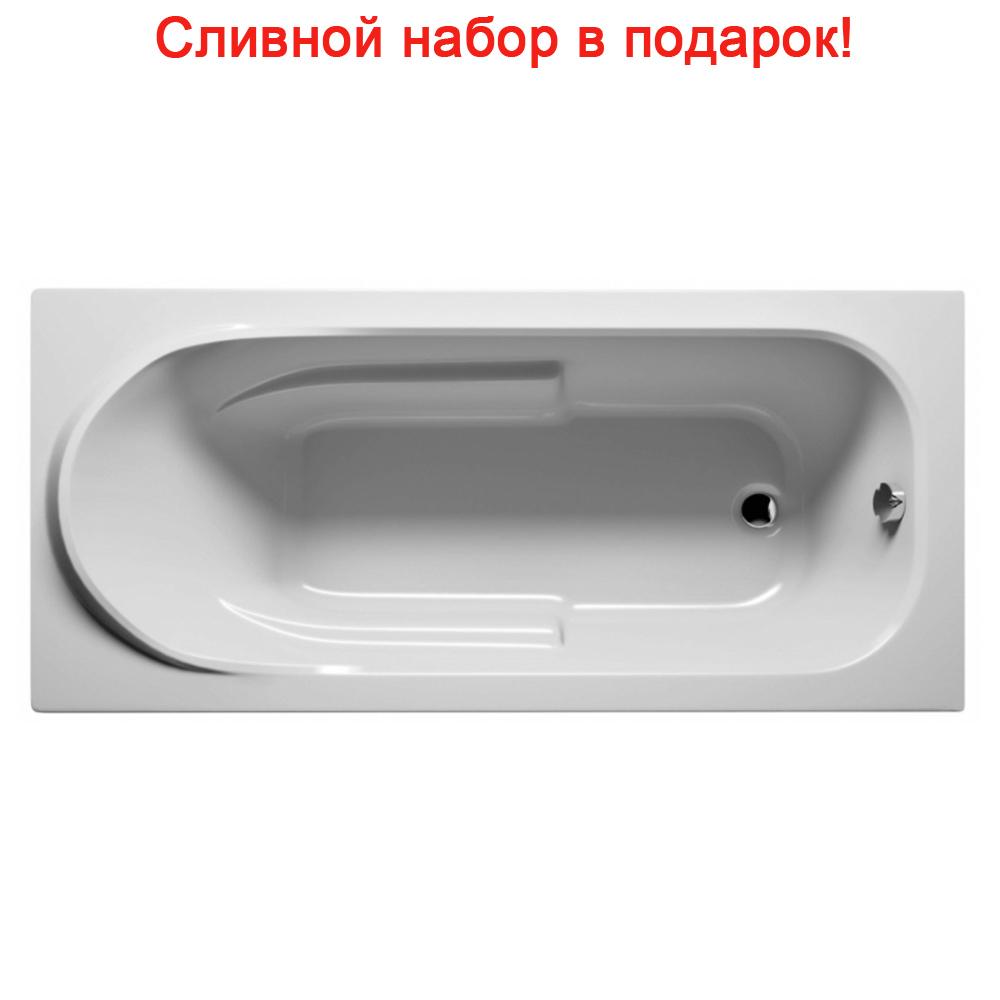 Акриловая ванна Riho Columbia 160x75 без гидромассажа акриловая ванна riho columbia 140x70 без гидромассажа ba0500500000000