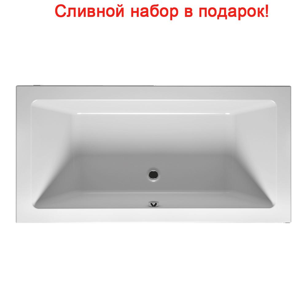 Акриловая ванна Riho Lugo Slim 180x90 без гидромассажа