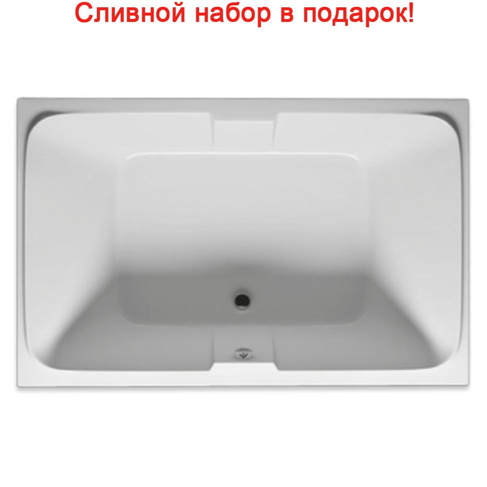 Акриловая ванна Riho Sobek 180x115 без гидромассажа