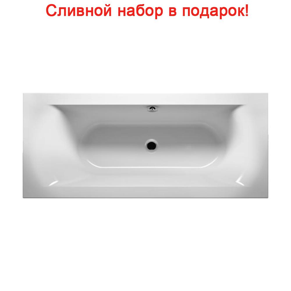Акриловая ванна Riho Linares Slim R 170x75 без гидромассажа