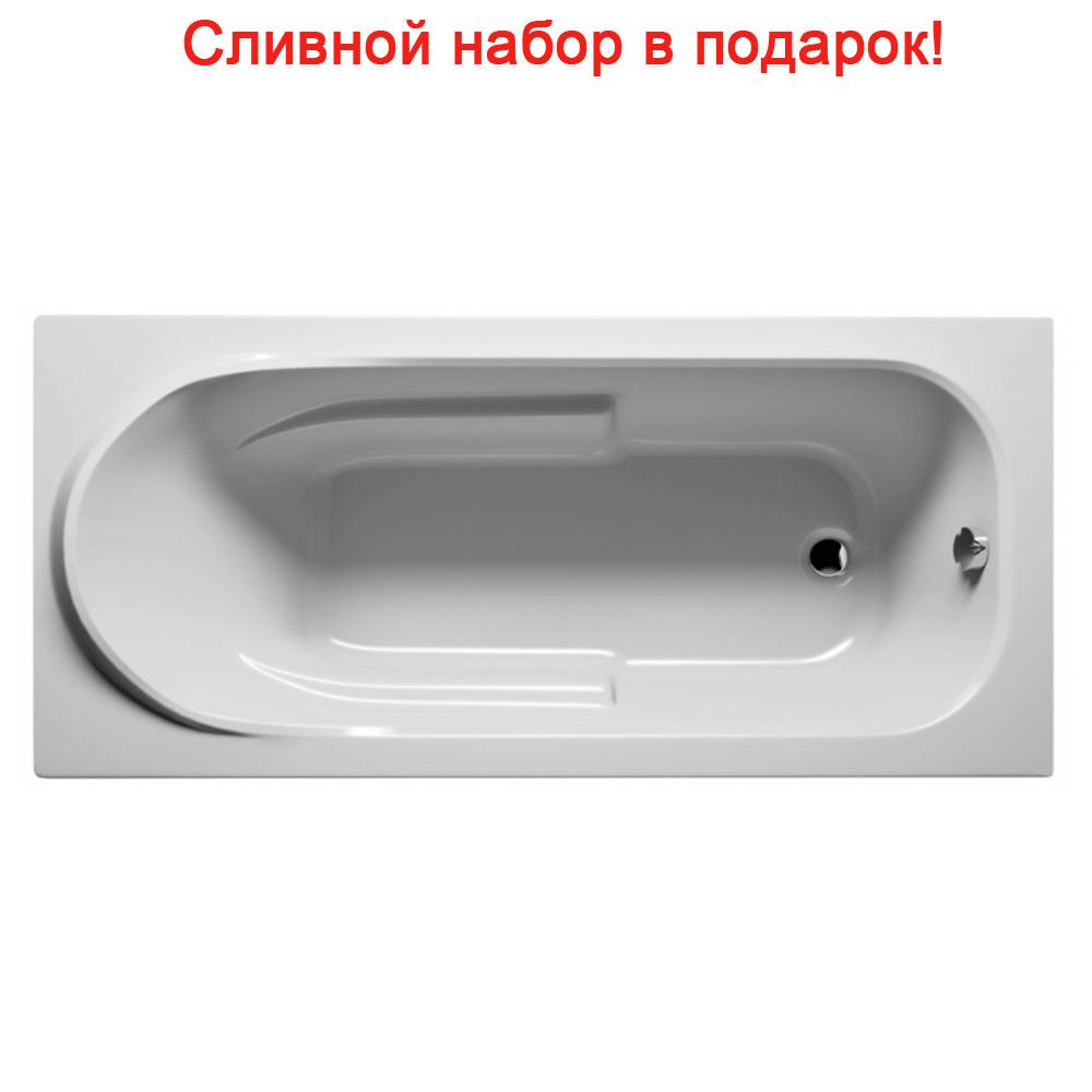 Акриловая ванна Riho Columbia 175x80 без гидромассажа акриловая ванна riho columbia 140x70 без гидромассажа ba0500500000000