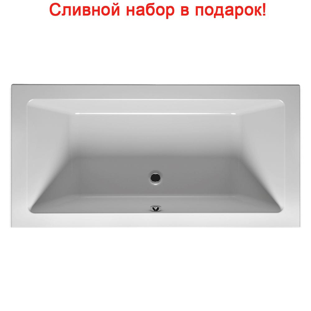 Акриловая ванна Riho Lugo Slim 200x90 без гидромассажа акриловая ванна riho lusso 200x90 без гидромассажа ba6000500000000