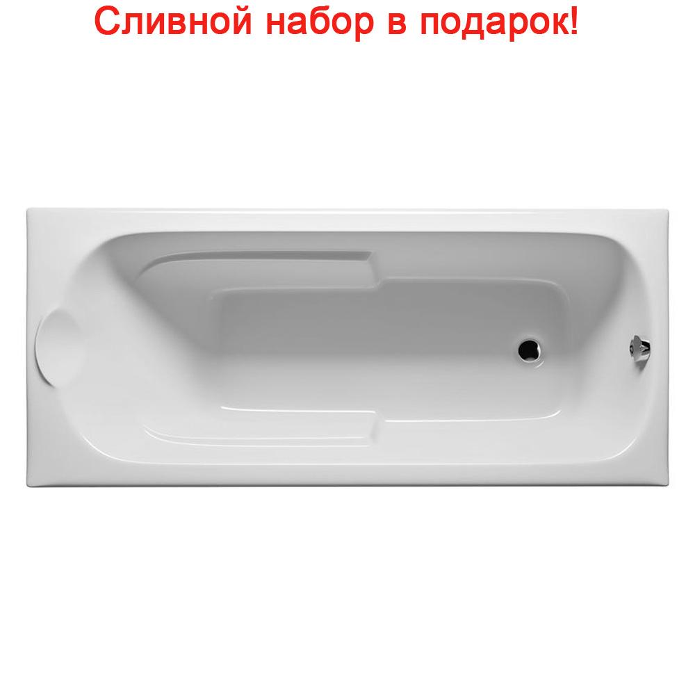 Акриловая ванна Riho Virgo 170x75 без гидромассажа