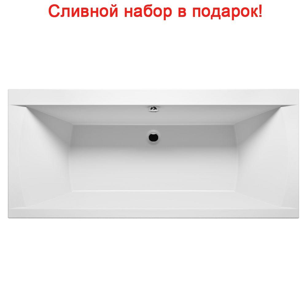 Акриловая ванна Riho Julia 180x80 без гидромассажа