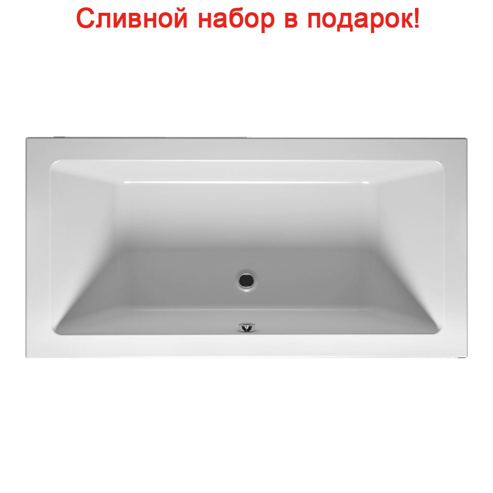 Акриловая ванна Riho Lugo Slim 190x80 без гидромассажа цена