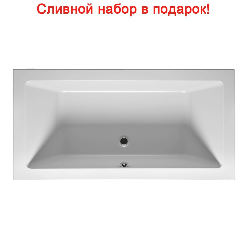 Акриловая ванна Riho Lugo Slim 170x75 без гидромассажа
