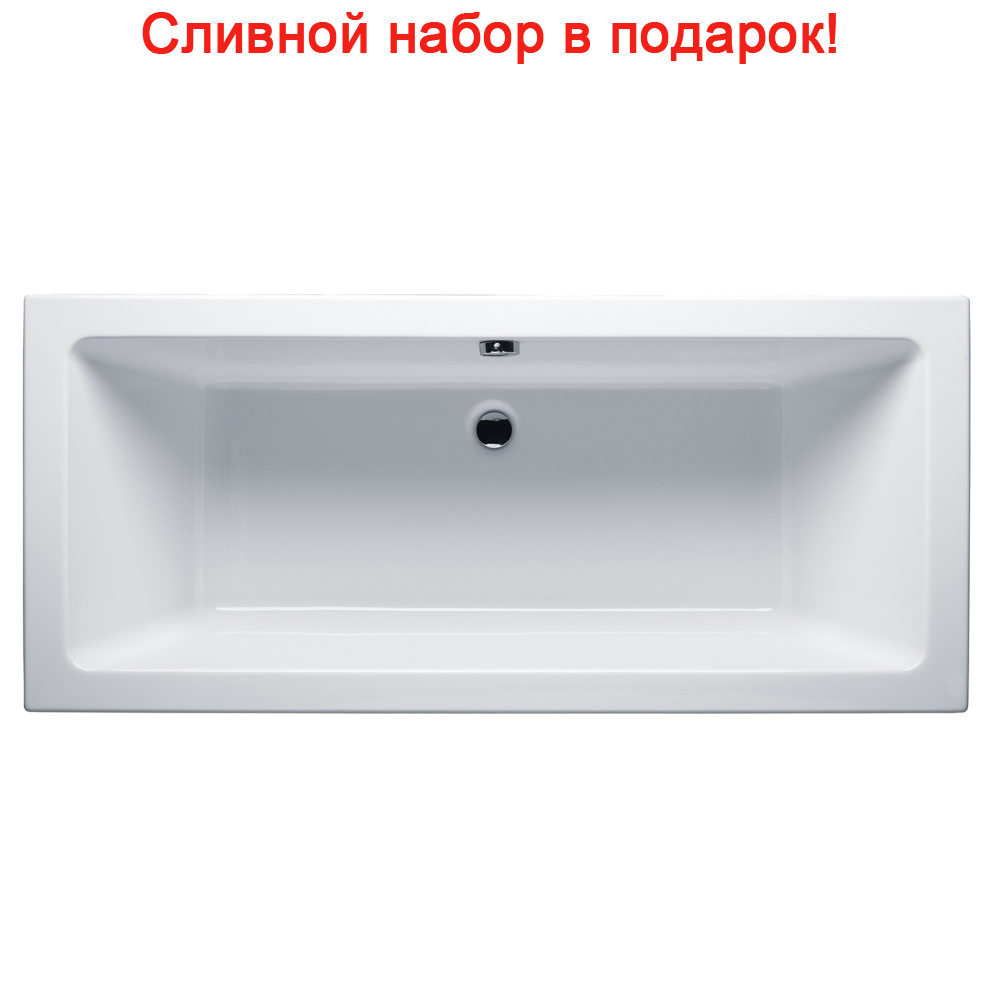 Акриловая ванна Riho Lusso 200x90 без гидромассажа