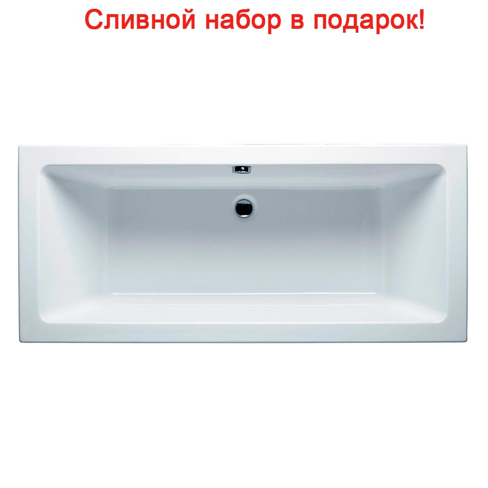 Акриловая ванна Riho Lugo Velvet 170x75 без гидромассажа цена