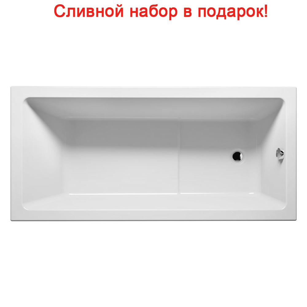Акриловая ванна Riho Lusso Plus 170x80 без гидромассажа riho 170x80 2ynvn1020