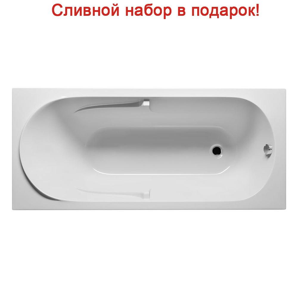 цена на Акриловая ванна Riho Future 170x75 без гидромассажа