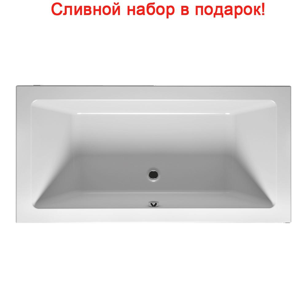 Акриловая ванна Riho Lugo Slim 190x90 без гидромассажа