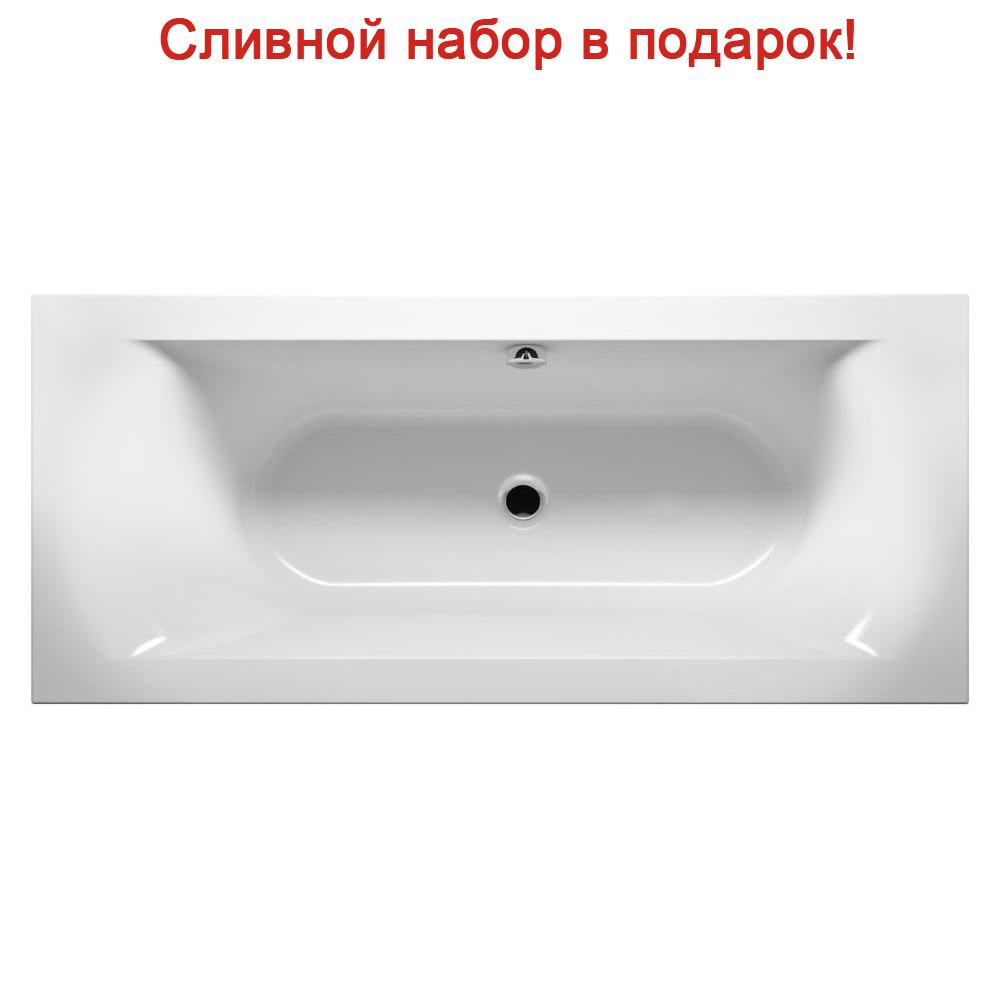 Акриловая ванна Riho Lima 180x80 без гидромассажа