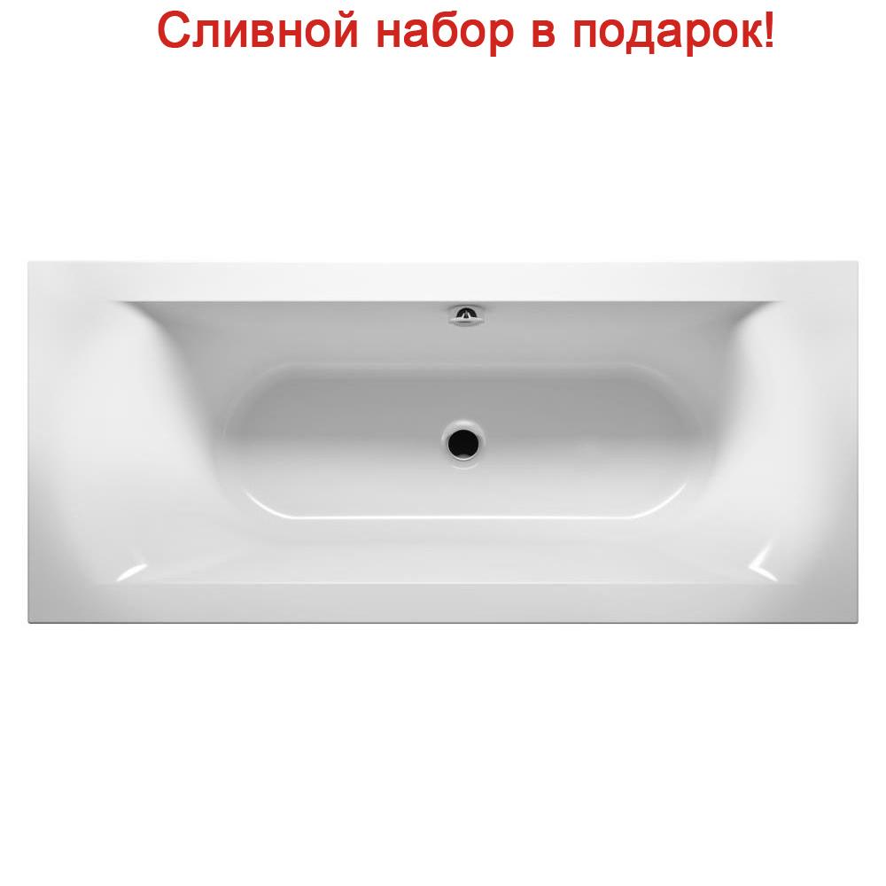 Акриловая ванна Riho Lima 160x70 R без гидромассажа