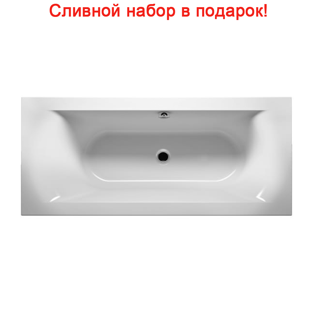Акриловая ванна Riho Linares Slim R 160x70 без гидромассажа