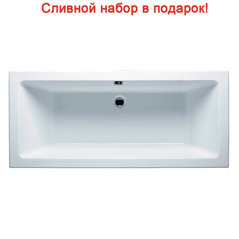 Акриловая ванна Riho Lugo Velvet 180x80 без гидромассажа