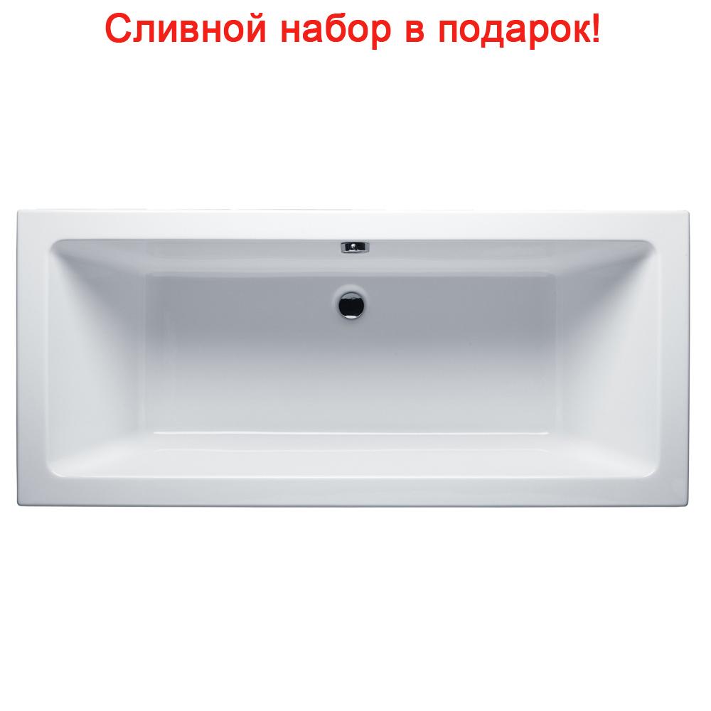 Акриловая ванна Riho Lusso 170х75 без гидромассажа акриловая ванна excellent aquaria 170х75 без гидромассажа