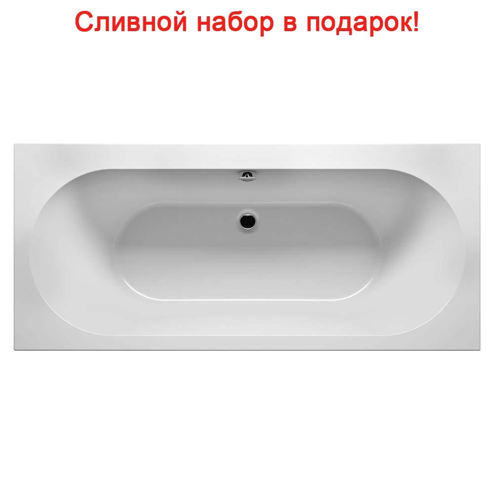 Акриловая ванна Riho Carolina 170x80 без гидромассажа riho 170x80 2ynvn1020