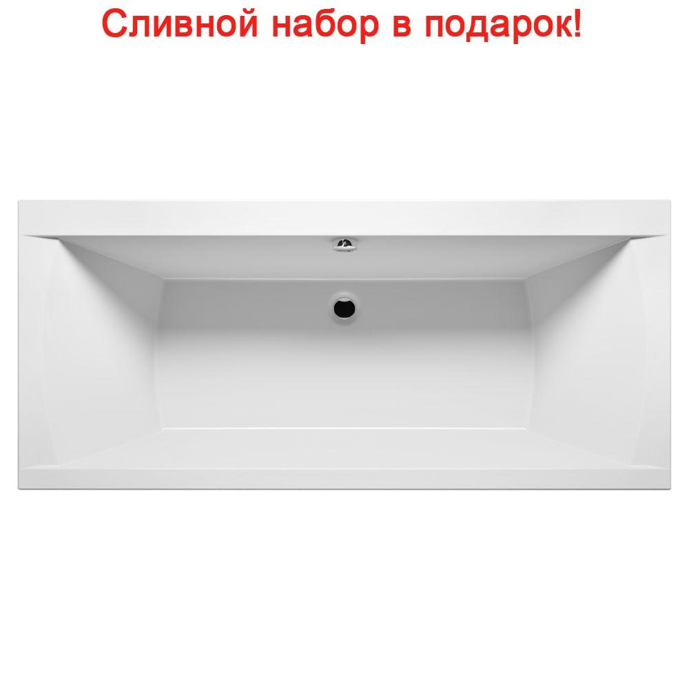 Акриловая ванна Riho Julia 160x70 без гидромассажа акриловая ванна riho julia 160x70x46