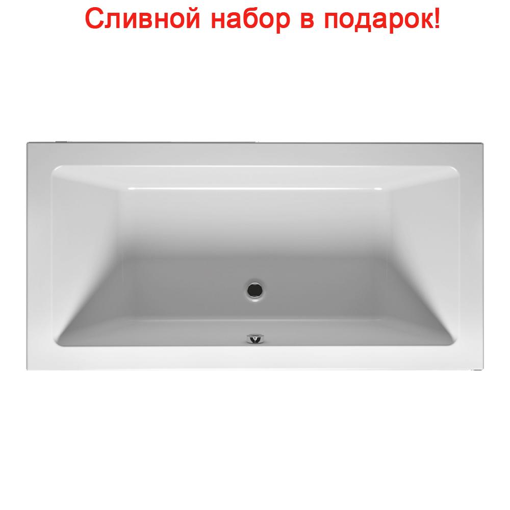 Акриловая ванна Riho Lugo Slim 180x80 без гидромассажа