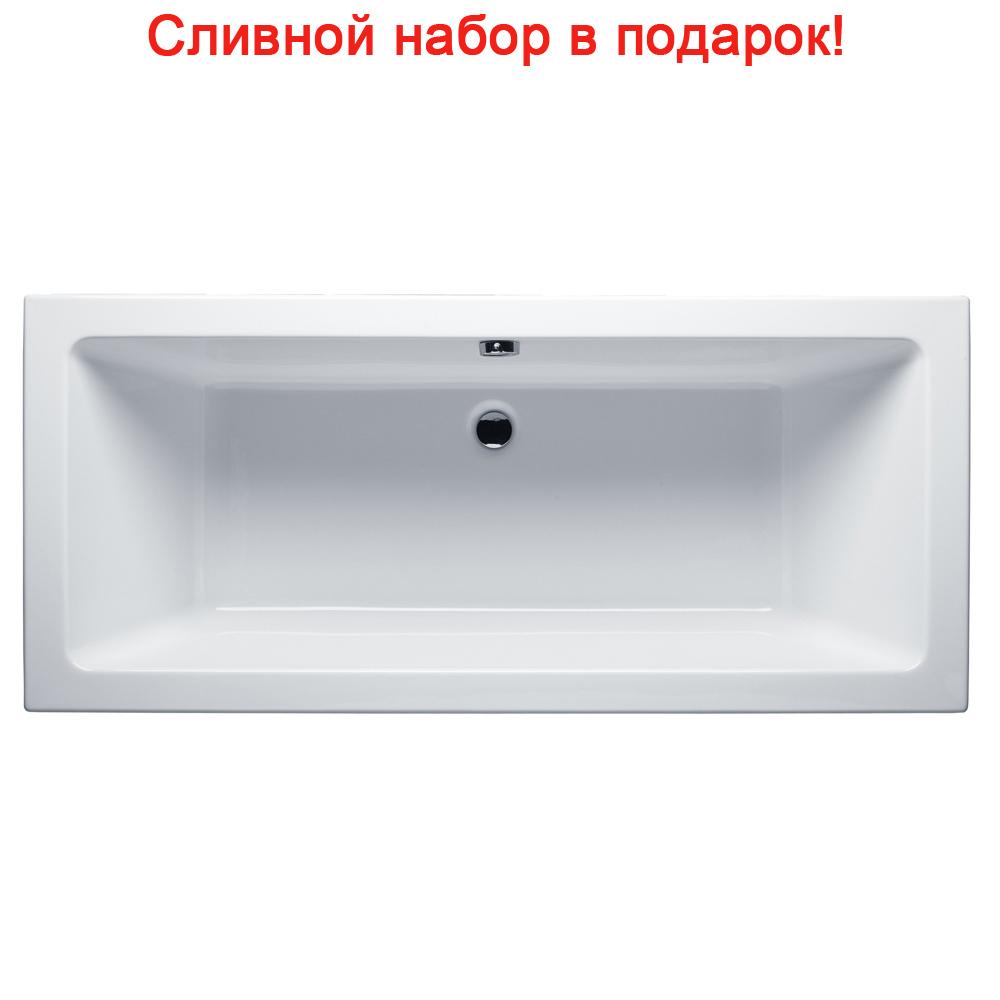 Акриловая ванна Riho Lusso 190x90 без гидромассажа акриловая ванна riho lusso 200x90 без гидромассажа ba6000500000000