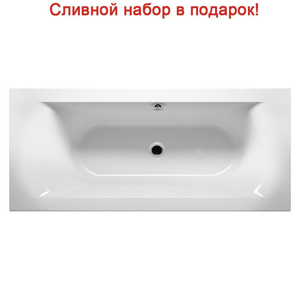 цена на Акриловая ванна Riho Lima 170x75 R без гидромассажа