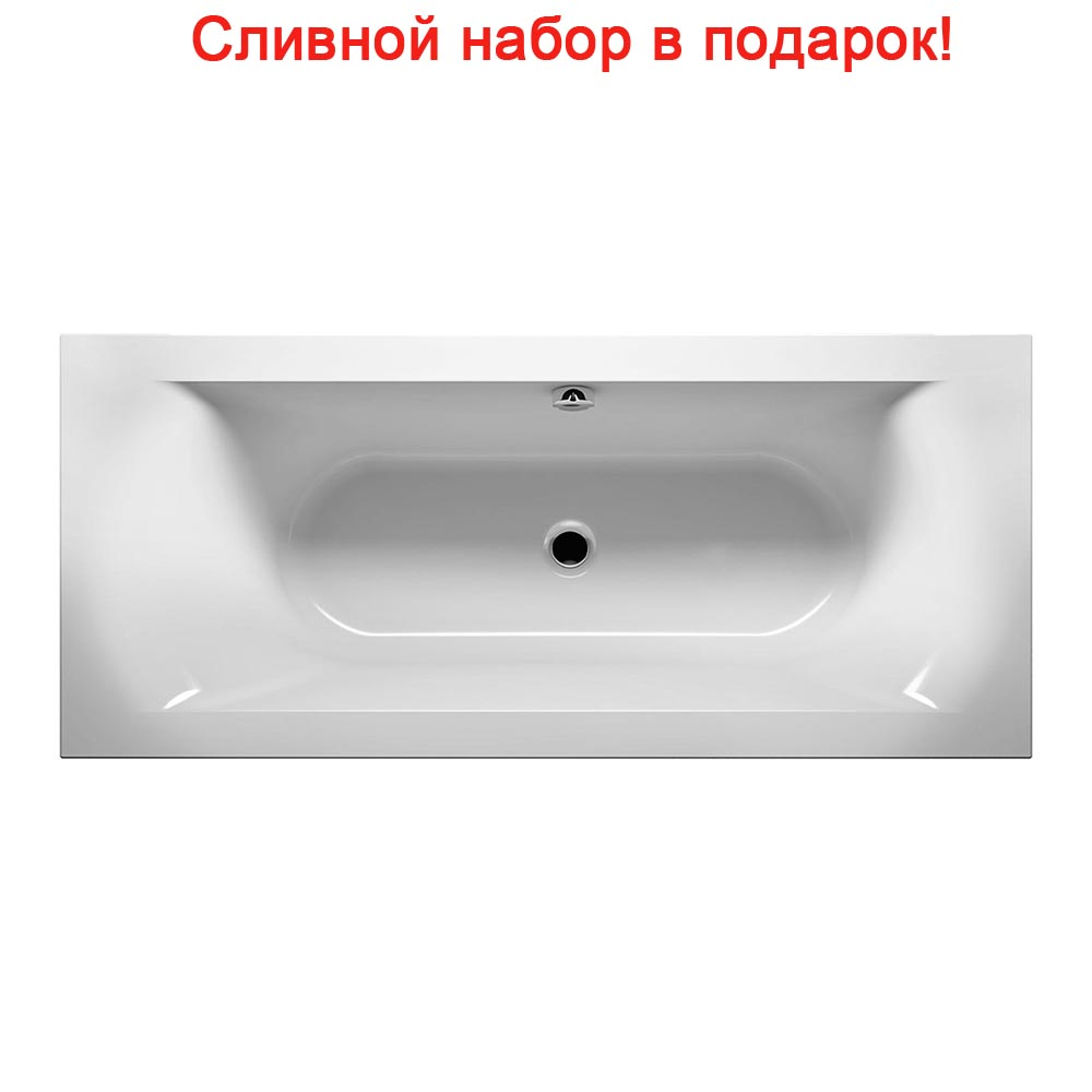 Акриловая ванна Riho Linares Velvet 180x80 без гидромассажа цены