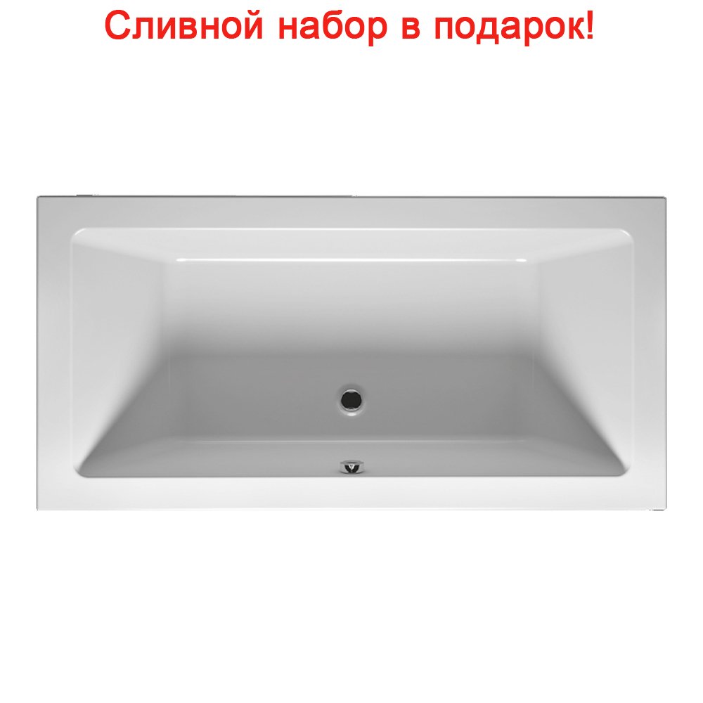 цена на Акриловая ванна Riho Lugo Slim 170x75 без гидромассажа