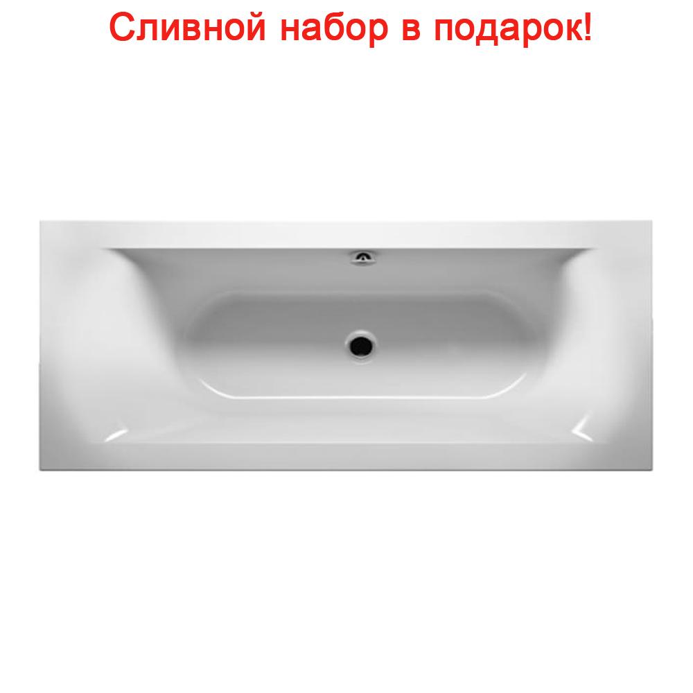 Акриловая ванна Riho Linares Slim R 180x80 без гидромассажа цены
