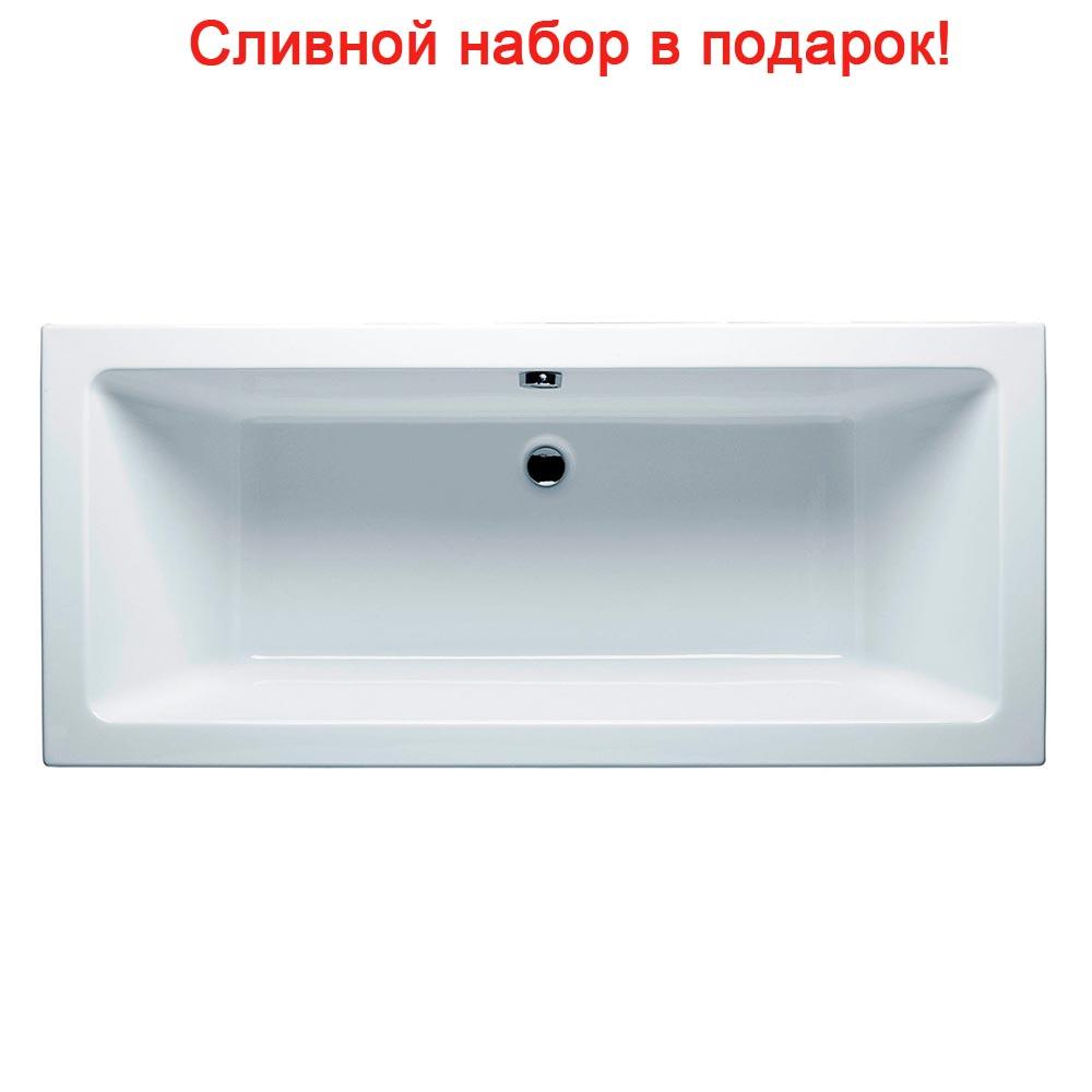 цена на Акриловая ванна Riho Lugo Velvet 170x75 без гидромассажа