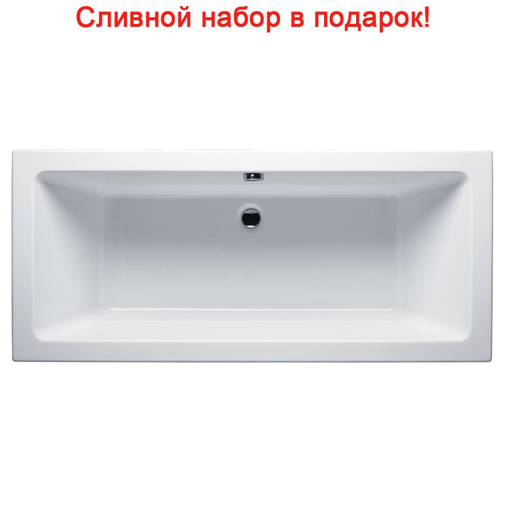 Акриловая ванна Riho Lusso 190x80 без гидромассажа акриловая ванна riho lusso 200x90 без гидромассажа ba6000500000000