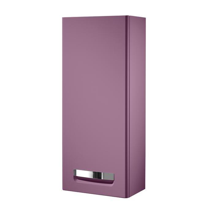 Подвесной шкаф Roca Gap 35 левый фиолетовый шкаф пенал roca gap фиолетовый r zru9302746