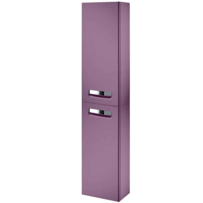 Пенал Roca Gap 35 левый фиолетовый плёнка шкаф пенал roca gap фиолетовый r zru9302746