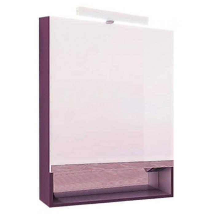 Зеркальный шкаф Roca Gap 80 фиолетовый шкаф пенал roca gap фиолетовый r zru9302746
