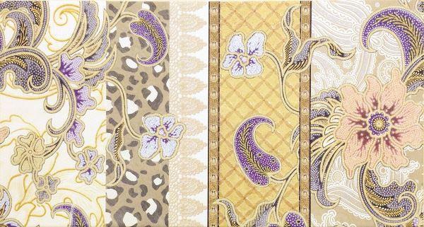 Декор Rocersa Dec. Andalus A Beige 31,6х59,34 декор azulejos alcor cannes dec 2 flor new beige 31 6x44 5