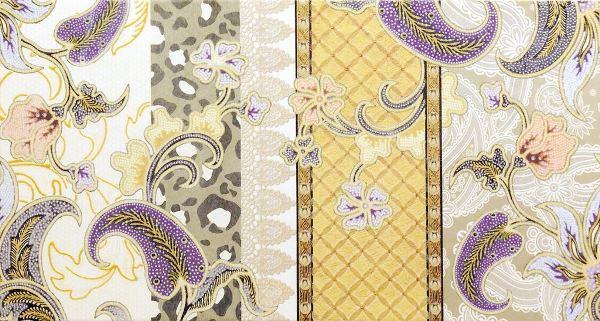 Декор Rocersa Dec. Andalus B Beige 31,6х59,34 декор azulejos alcor cannes dec 2 flor new beige 31 6x44 5